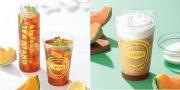 「Lipton TEA STAND」夏の限定メニュー「Fruits in Tea 茨城メロン」&「スムーティー 茨城メロン」