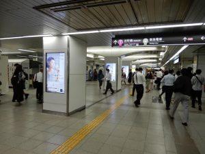 OFFICE DE YASAI サブスクスムージー 駅構内広告